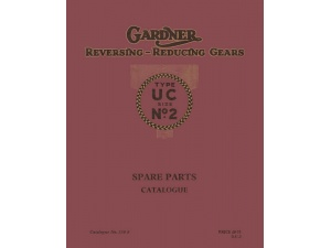 2UC Reversing Gearbox Parts Manual