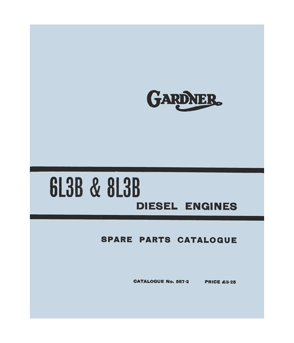 6 & 8 Cylinder L3B Spare Parts Catalogue