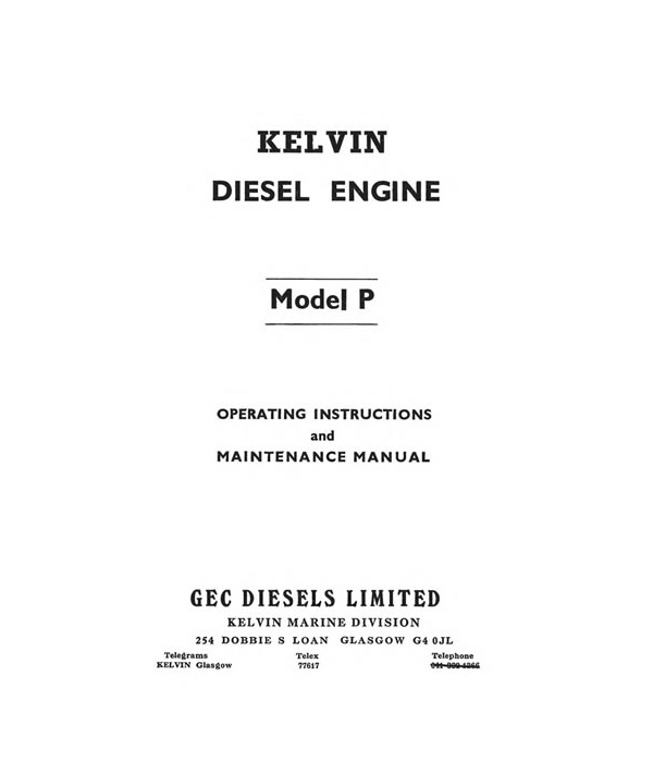 P Series Workshop Manual P2 & 4 incl R